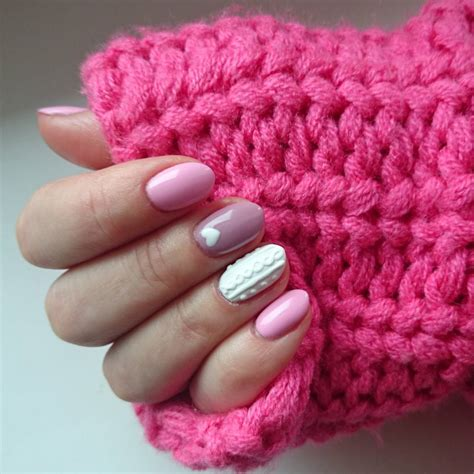 knit pattern nails cozy knitted nail design 2016 that makes you perfect in