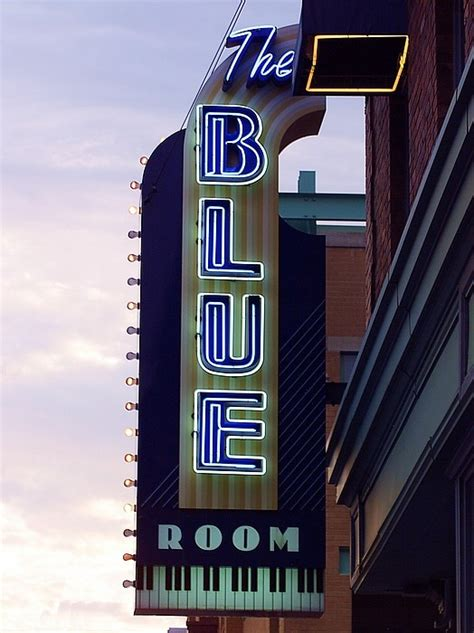 blue room kansas city kansas city mo sign for the blue room looking to the west kansas city photo picture image