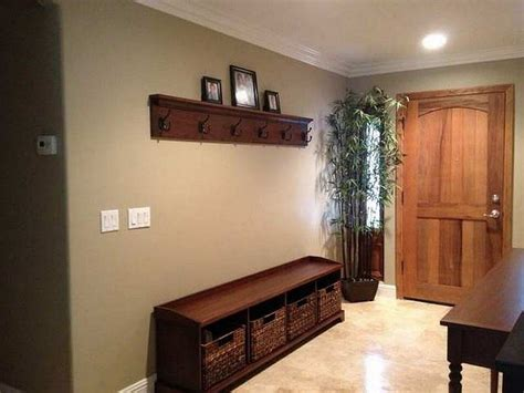 hallway bench with hooks simple entryway benches kitchen and entry way