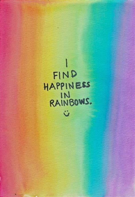 quotes on colours and happiness gods beautiful rainbow quotes quotesgram