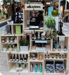 1000 ideas about product display stands on davines product display by designhouse salon at the modern