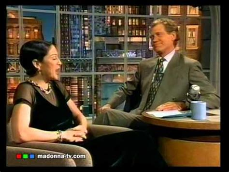 Madonna I Underpants Tonight On The Late Show With David Letterman Mound by Madonna On Letterman 1994 Original Swearing Part
