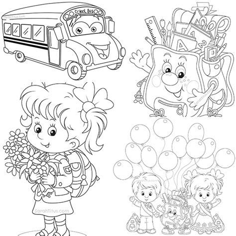 imagenes escolares sin colorear 44 dibujos para colorear 161 vuelta al cole pequeocio