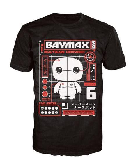 T Shirt Kaos Baymax disney big 6 baymax pop t shirt black pop in a