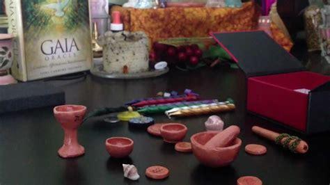 Set Minie Kid mini wiccan altar kit