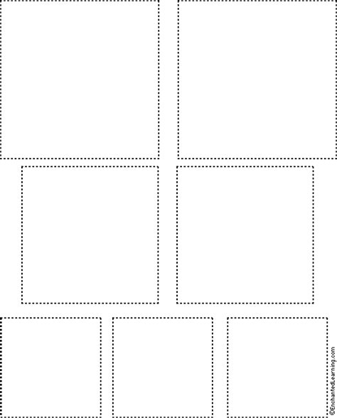 tree tracing cutting template enchantedlearning squares tracing cutting template enchantedlearning