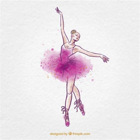 imagenes abstractas de bailarinas bailarina de ballet acuarela incompleto descargar