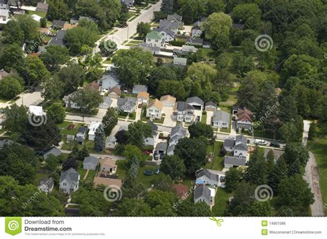 aerial view neighborhood houses homes residences royalty