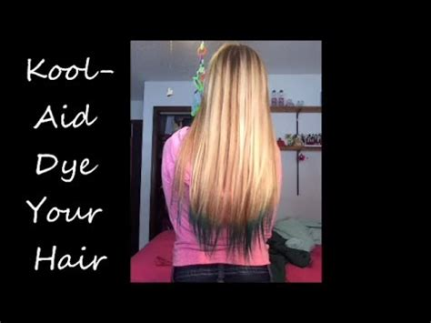 remove kool aid from hair how to dip dye your hair with koolaid youtube