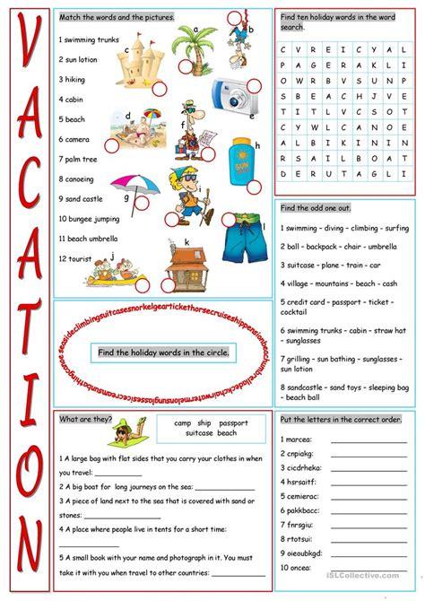 printable vocabulary games holiday vocabulary words pdf lifehacked1st com