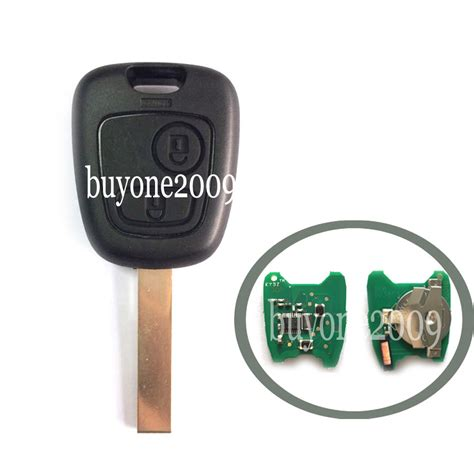 peugeot 307 key remote key fob for peugeot 307 2 button 433mhz blank