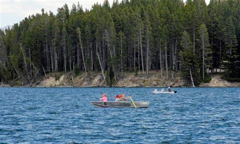lake yellowstone boat tours yellowstone national park boating boat rentals marinas