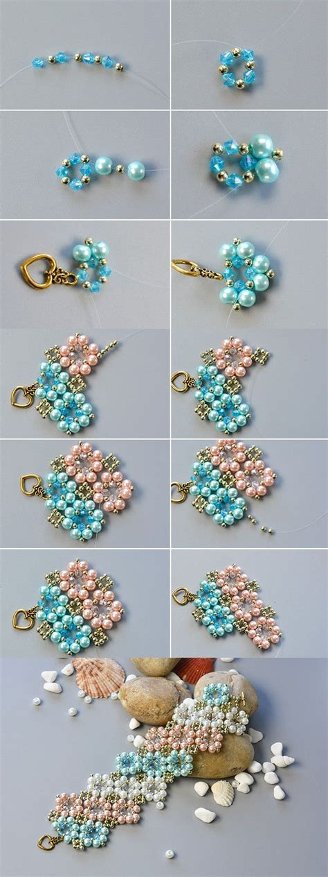 beaded flower bracelet patterns flower beaded bracelet wanna it the tutorial will be