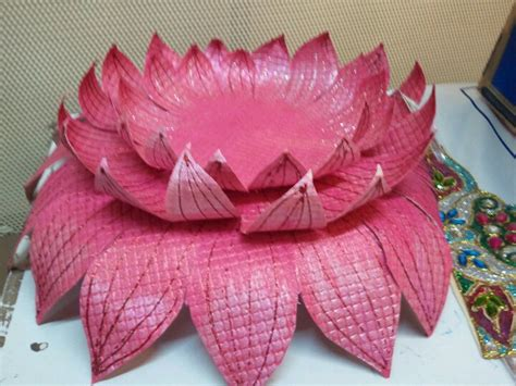 lotus flower paper craft paper lotus stuff to try paper lotus