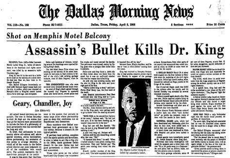 obituary headlines the dallas morning news martin luther king jr genealogy ancestry articles