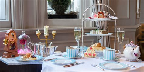themed afternoon tea london there will be a festive version of the beauty and the