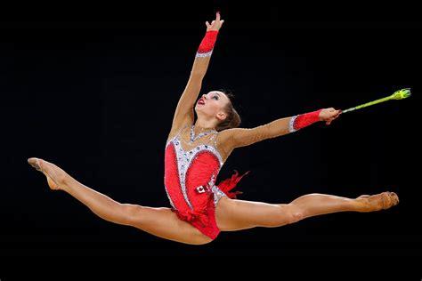 Russian Gymnast Wardrobe by Rhythmic Gymnastics At 2014 Commonwealth