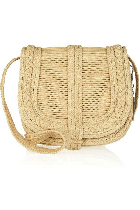 Crossbody Straw Bag ralph collection woven straw crossbody bag in beige