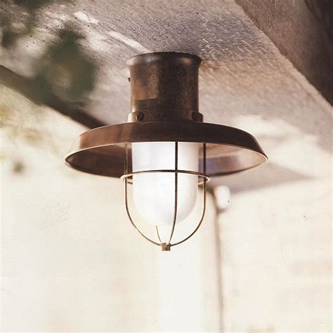 Outside Ceiling Light Maritime Outdoor Ceiling Light Il Patio 225 04 Or Terra Lumi