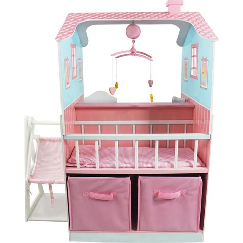 Baby Playset by Teamson Baby Nursery Play Set Doll Playsets Baby