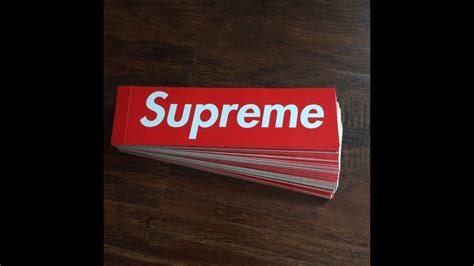 supreme stickers how to spot a supreme sticker
