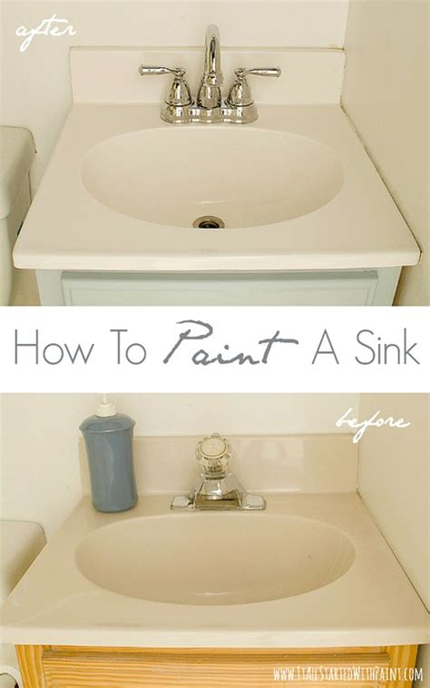 painting bathroom sink how to paint a sink a giveaway it all started with paint