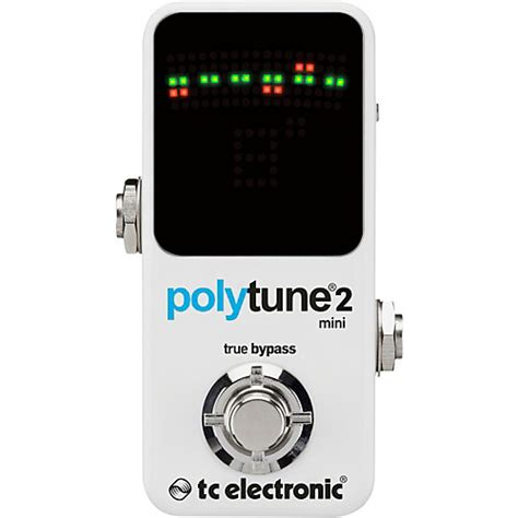Tc Electronic Polytune2 by Tc Electronic Polytune Mini 2 Pedal Tuner Guitar Center