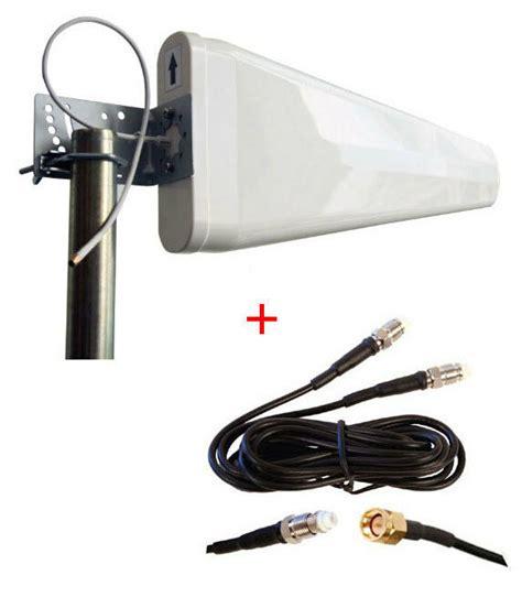 verizon novatel t1114 t1114v 4g lte router external log periodic yagi antenna ebay