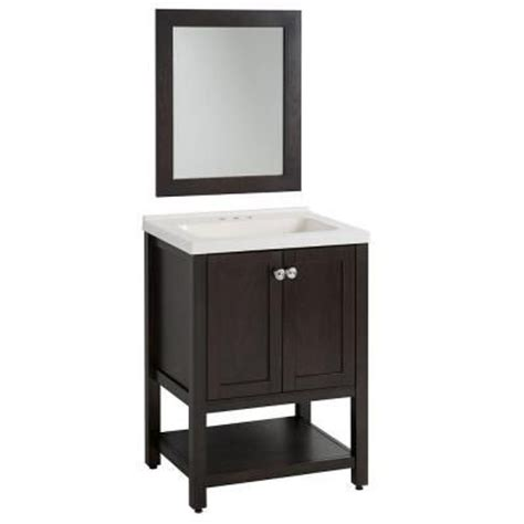 72 Cultured Marble Vanity Top by Glacier Bay Sea Bright 24 In Vanity In Charcoal With