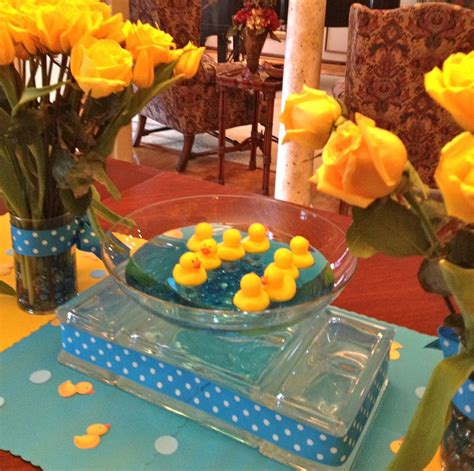 duck themed baby shower decorations quot baby shower quot rubber duck theme shelley beatty