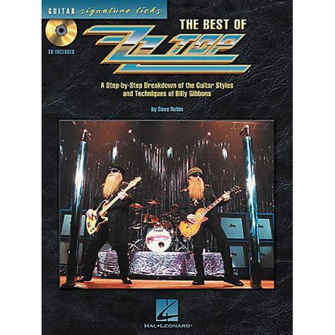 1470632160 signature solos book all new hal leonard the best of zz top guitar signature licks book