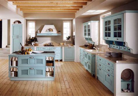 Beautiful Cucina Muratura Bianca #1: cucina-in-muratura-azzurra.jpg