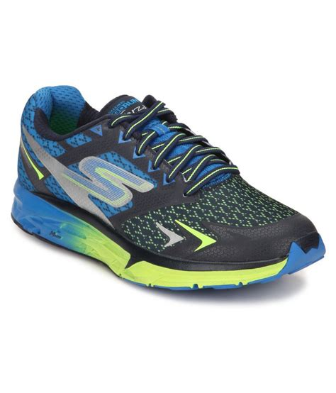 skechers multi color shoes skechers go run forza multi color running shoes buy