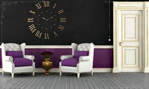 purple and black room paint color ideas and combinations for fall