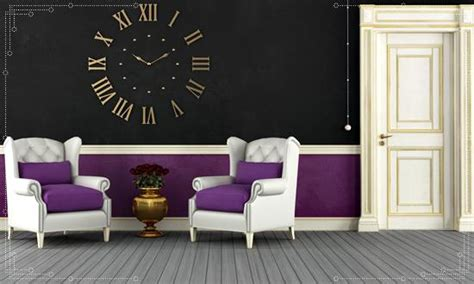 purple and black living room paint color ideas and combinations for fall