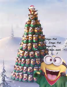 minion xmas tree jinga fle by richard67915 on deviantart