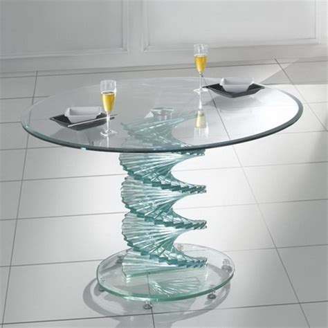 dining table swirl glass dining table