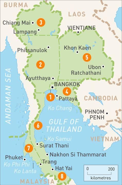 map thailand map of thailand map of thailand guides