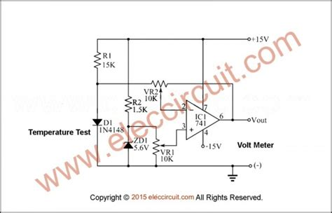 relay diode protection 1n4148 temperature measurement using diode eleccircuit