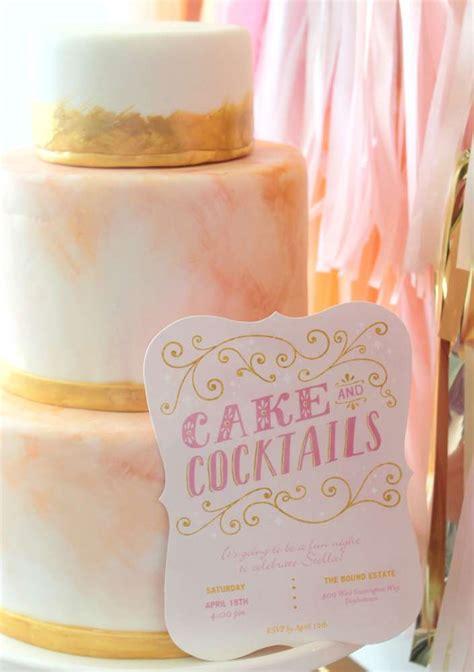 cocktail bridal shower cakes cocktails bridal wedding shower ideas