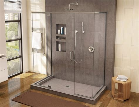 Bathroom Shower Pans A Shower Pan Base In Corian Useful Reviews Of Shower Stalls Enclosure Bathtubs And Other