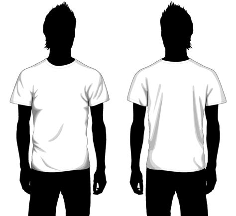 t shirt templates vector vector boys t shirt template front and back