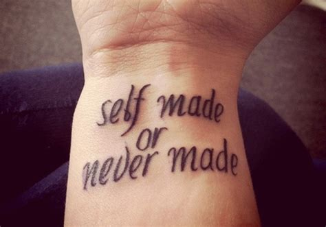 self tattoo 20 cool and creative quote tattoos on guys