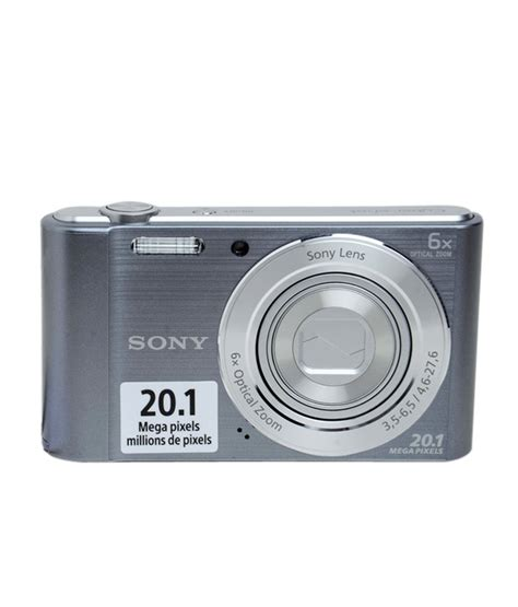 Bekas Kamera Sony Dsc W810 shop sony digital dsc w810 silver 20 1 mp 6x zoom hd shopclues