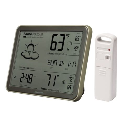acurite digital weather station with forecast