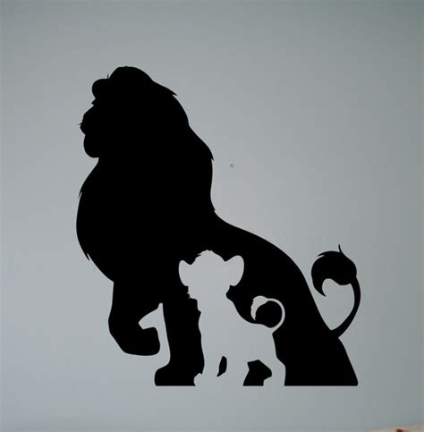 Self Adhesive Wallpaper by Aliexpress Com Buy The Lion King Wall Vinyl Decal Retro