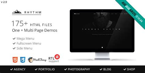 Arch Multipurpose Onepage Multipage Html Template rhythm multipurpose one multi page template themekeeper