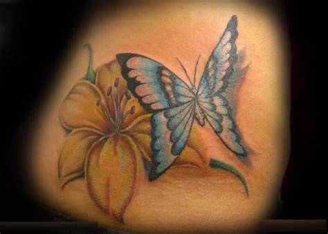 blue lily tattoo design 40 fantastic designs for truetattoos