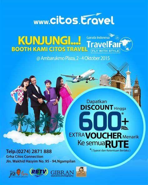 Voucher Homestayguesthousepenginapan Di Yogya 4 citos travel di garuda indonesia travel fair ambarrukmo