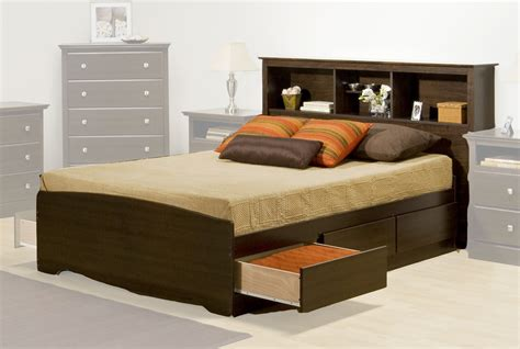 beds with headboards and storage bed frame with storage and headboard best storage design